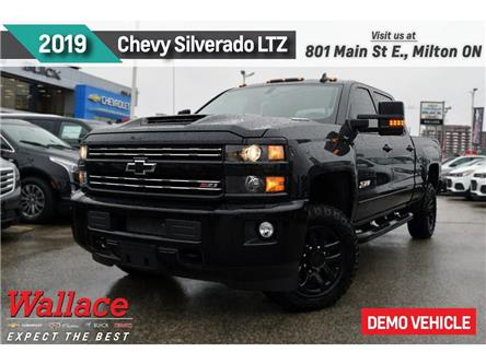 2019 Chevrolet Silverado 2500HD LTZ/DEMO/6.6/MIDNIGHT EDTN/HD TRAILR PK/LOADED! (Stk: 224858D) in Milton - Image 1 of 3