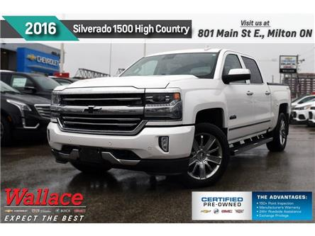 2016 Chevrolet Silverado 1500 High Country/SUNRF/20s/TRLR PK/STEPS/HTD&CLD STS (Stk: 479226A) in Milton - Image 1 of 4