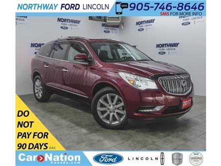 2017 Buick Enclave Premium | AWD | NAV | LEATHER | SUNROOF | 3 ROW | (Stk: LN93031A) in Brantford - Image 1 of 43