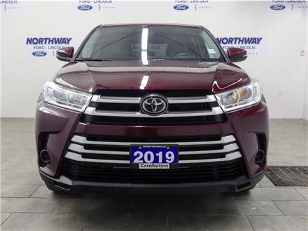 2019 Toyota Highlander LE | AWD | BACKUP CAM | 3 ROW | REAR CLIMATE | (Stk: DR702) in Brantford - Image 2 of 36