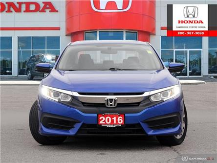 2016 Honda Civic EX (Stk: 20391A) in Cambridge - Image 2 of 27