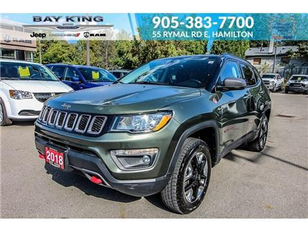 2018 Jeep Compass Trailhawk (Stk: 6927R) in Hamilton - Image 1 of 29