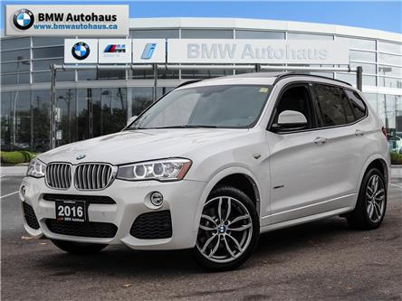2016 BMW X3 xDrive28i (Stk: P9198) in Thornhill - Image 1 of 30
