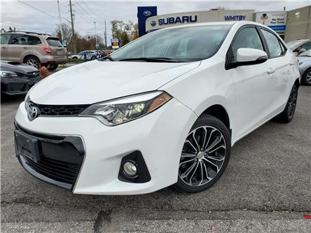 2016 Toyota Corolla S (Stk: 19S1214A) in Whitby - Image 1 of 23