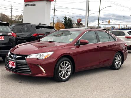2017 Toyota Camry Hybrid XLE (Stk: W4899) in Cobourg - Image 1 of 25