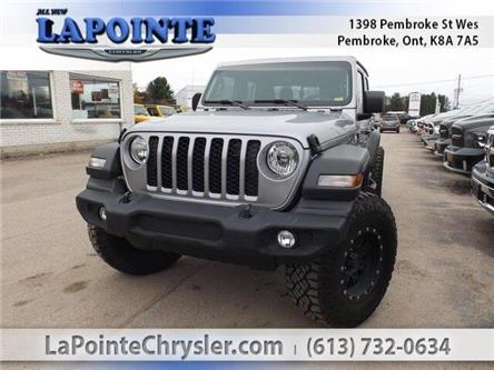2020 Jeep Gladiator Sport S (Stk: 20006) in Pembroke - Image 1 of 26