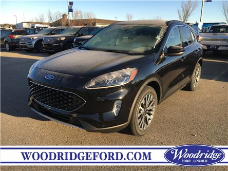 2020 Ford Escape Titanium (Stk: L-45) in Calgary - Image 1 of 6