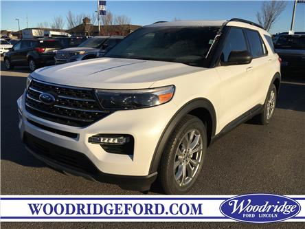 2020 Ford Explorer XLT (Stk: L-61) in Calgary - Image 1 of 5