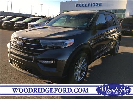 2020 Ford Explorer XLT (Stk: L-98) in Calgary - Image 1 of 5