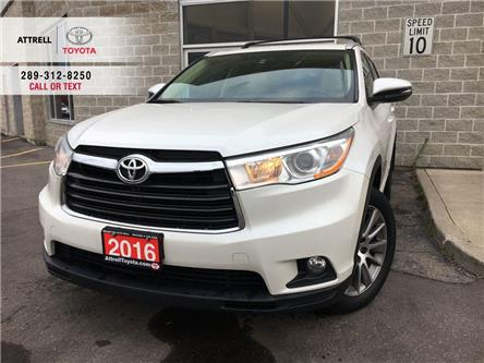 2016 Toyota Highlander XLE AWD 8 PASS, LEATHER, SUNROOF, ALLOYS, FOG, NAV (Stk: 45891A) in Brampton - Image 1 of 23
