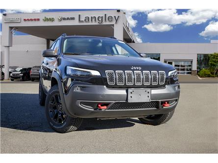 2020 Jeep Cherokee Trailhawk (Stk: L531681) in Surrey - Image 1 of 23