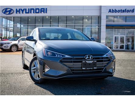 2020 Hyundai Elantra Preferred w/Sun & Safety Package (Stk: LE996684) in Abbotsford - Image 1 of 20