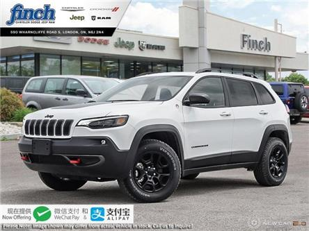 2020 Jeep Cherokee Trailhawk (Stk: 96780) in London - Image 1 of 24