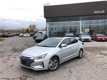 2019 Hyundai Elantra Preferred (Stk: KMHD84) in Brampton - Image 2 of 19