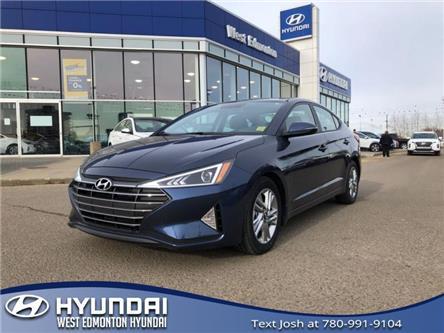 2019 Hyundai Elantra  (Stk: E4700) in Edmonton - Image 1 of 18
