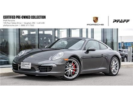 2012 Porsche 911 Carrera S Coupe (991) w/ PDK (Stk: U8275) in Vaughan - Image 1 of 22