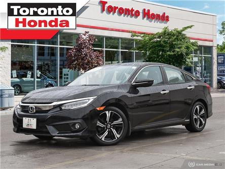 2016 Honda Civic Touring/Navigation/Alloys/leather/Bup Camera (Stk: 39537) in Toronto - Image 1 of 27