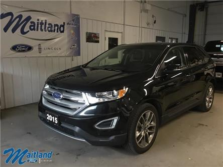2015 Ford Edge Titanium (Stk: XB0401) in Sault Ste. Marie - Image 1 of 29