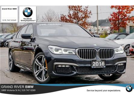 2016 BMW 750i xDrive (Stk: PW5001) in Kitchener - Image 1 of 22