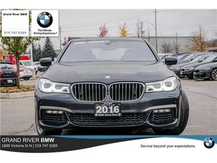 2016 BMW 750i xDrive (Stk: PW5001) in Kitchener - Image 2 of 22