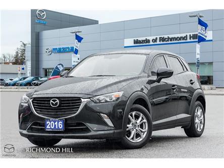 2016 Mazda CX-3 GS (Stk: 20-019A) in Richmond Hill - Image 1 of 19