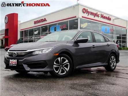 2016 Honda Civic LX (Stk: U2087) in Guelph - Image 1 of 23