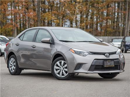 2015 Toyota Corolla LE (Stk: COR6821A) in Welland - Image 1 of 20