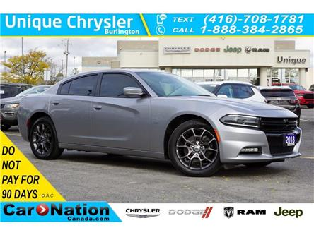 2018 Dodge Charger GT AWD| SUPER TRACK PAK| NAV| SUNROOF| ALPINE (Stk: DR111) in Burlington - Image 1 of 50