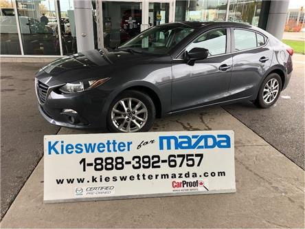 2015 Mazda Mazda3 GS (Stk: U3909) in Kitchener - Image 1 of 28