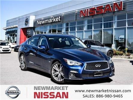 2019 Infiniti Q50 3.0t Signature Edition (Stk: UN1022) in Newmarket - Image 1 of 18