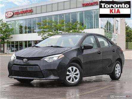 2014 Toyota Corolla CE/Air Condition/Automatic/ (Stk: K31851) in Toronto - Image 1 of 27
