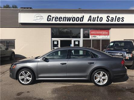 2013 Volkswagen Passat 2.0 TDI Highline (Stk: 13-38942) in Greenwood - Image 1 of 13