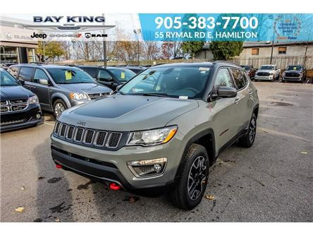 2020 Jeep Compass Trailhawk (Stk: 207520) in Hamilton - Image 1 of 25