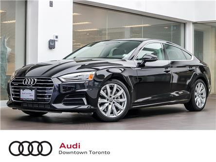 2018 Audi A5 2.0T Progressiv (Stk: P3487) in Toronto - Image 1 of 28