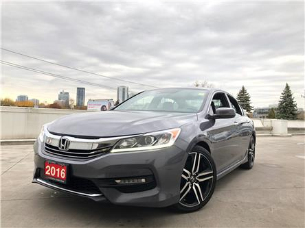 2016 Honda Accord Sport (Stk: A19740A) in Toronto - Image 1 of 31