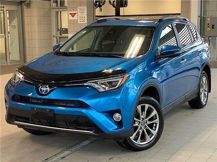 2018 Toyota RAV4 Hybrid Limited (Stk: P19132) in Kingston - Image 1 of 13