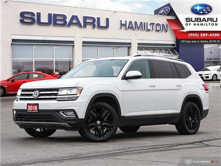 2018 Volkswagen Atlas 3.6 FSI Execline (Stk: S7961A) in Hamilton - Image 1 of 25