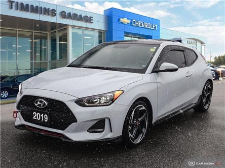 2019 Hyundai Veloster  (Stk: P19787A) in Timmins - Image 1 of 10