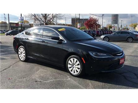 2015 Chrysler 200 LX (Stk: 2135A) in Windsor - Image 2 of 11