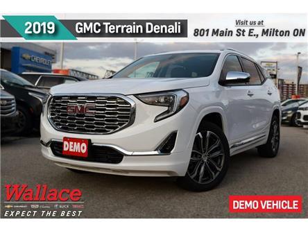 2019 GMC Terrain Denali/DEMO/SUNRF/HTD&CLD STS/HTD WHL/NAV/BOSE (Stk: 321414D) in Milton - Image 1 of 20
