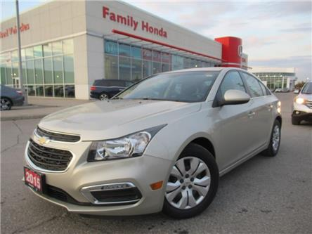 2015 Chevrolet Cruze LT 1LT | REVERSE CAMERA | BLUETOOTH | (Stk: 199189X) in Brampton - Image 1 of 23