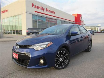 2014 Toyota Corolla S | SUNROOF | HEATED SEATS | (Stk: 124409T) in Brampton - Image 1 of 26