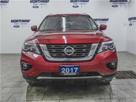 2017 Nissan Pathfinder SV | AWD | PWR HTD SEATS | BACKUP CAM | 3 ROW | (Stk: DR703) in Brantford - Image 2 of 41