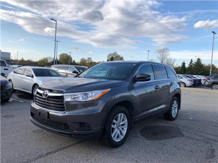 2016 Toyota Highlander LE (Stk: U2964) in Vaughan - Image 1 of 19