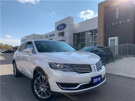 2016 Lincoln MKX Reserve (Stk: S0026A) in St. Thomas - Image 1 of 29