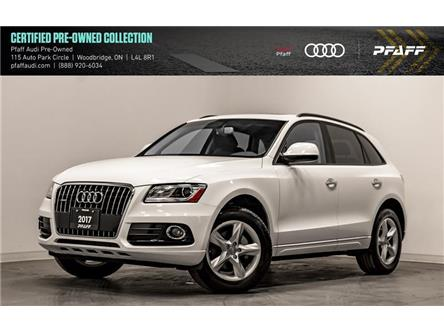 2017 Audi Q5 2.0T Komfort (Stk: C7215) in Woodbridge - Image 1 of 22