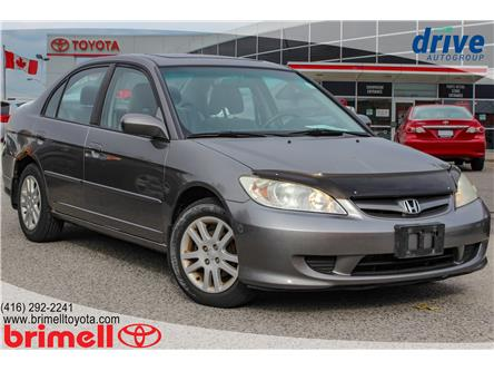 2005 Honda Civic LX-G (Stk: 9962RA) in Scarborough - Image 2 of 15