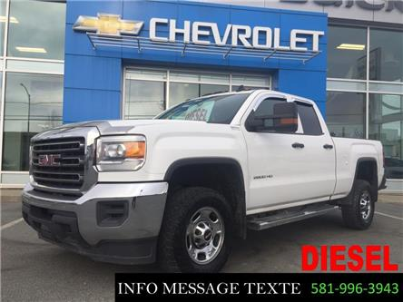 2015 GMC Sierra 2500HD WT (Stk: X8107) in Ste-Marie - Image 1 of 30