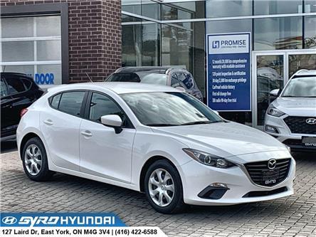 2015 Mazda Mazda3 Sport GX (Stk: H5295) in Toronto - Image 1 of 27