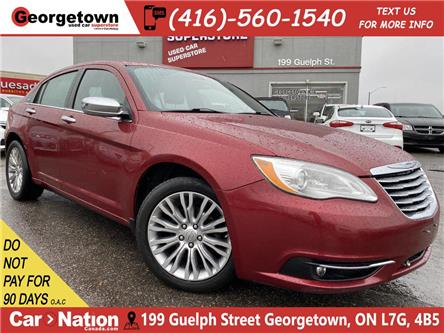 2012 Chrysler 200 Limited   LEATHER   ROOF   HEATED SEATS   BLUTOOTH (Stk: P12672A) in Georgetown - Image 1 of 25
